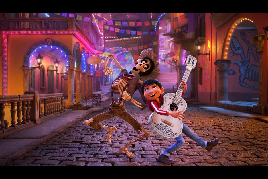 Disney Pixar's COCO - Coloring pages and family fun craft